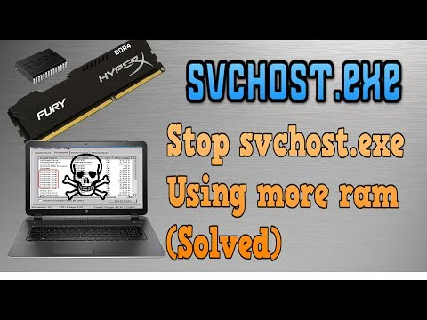 How to stop svchost.exe | Using more ram | Hindi | svchost.exe 🖥🖥🖥🖥