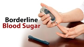 Borderline diabetes, also called prediabetes, is a condition that often develops before someone gets type 2 diabetes. It