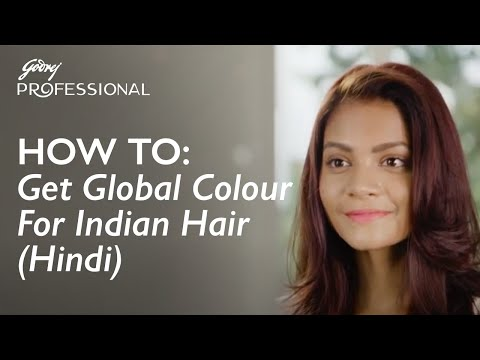 How To: Get Global Colour For Indian Hair (Hindi)