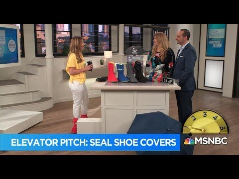 HSN Elevator Pitch: Seal Shoe Covers by OPEN Forum