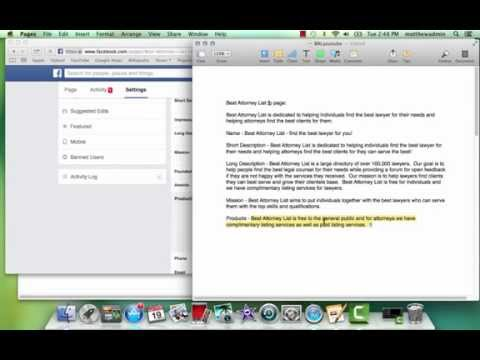 How to Make a Facebook page that's Search Engine Optimized