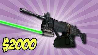 HOW TO USE THE $2,000 LASER BEAM