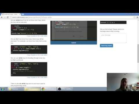 Web developerská škola, časť 27: JavaScript - Cyklus while