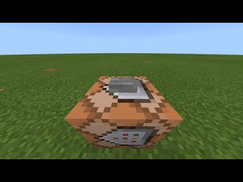 How to make a command block chat MCPE