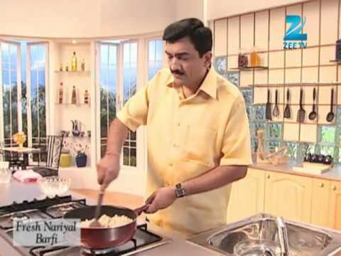 Khana Khazana Ramzan Special - Fresh Nariyal Burfi