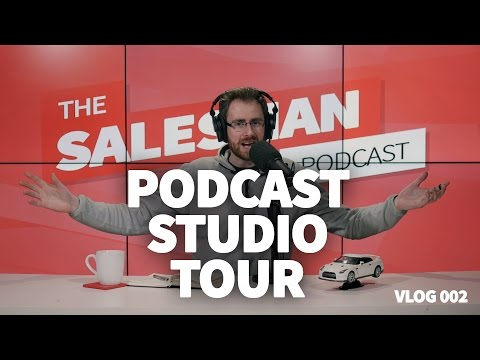 SALESMAN PODCAST STUDIO TOUR | Building The Brand 003