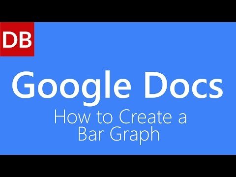 How to Create a Bar Graph | Google Docs Tutorial