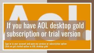 Download Install AOL Desktop Gold For Windows 10