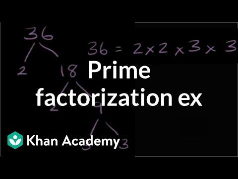 Prime factorization exercise | Factors and multiples | Pre-Algebra | Khan Academy