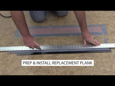 How to Replace GripStrip Vinyl Flooring