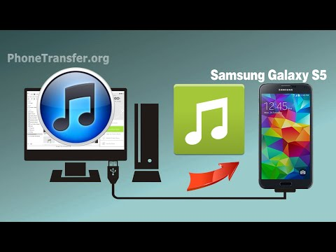 How to Sync Music from iTunes to Galaxy S5, Transfer iTunes Playlist to Samsung S5 / S6 / S6 Edge
