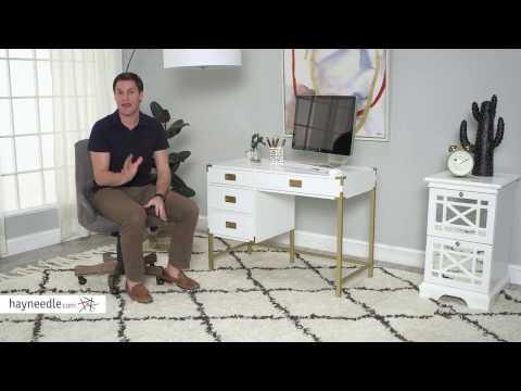 Belham Living Amelia Campaign Desk - Product Review Video