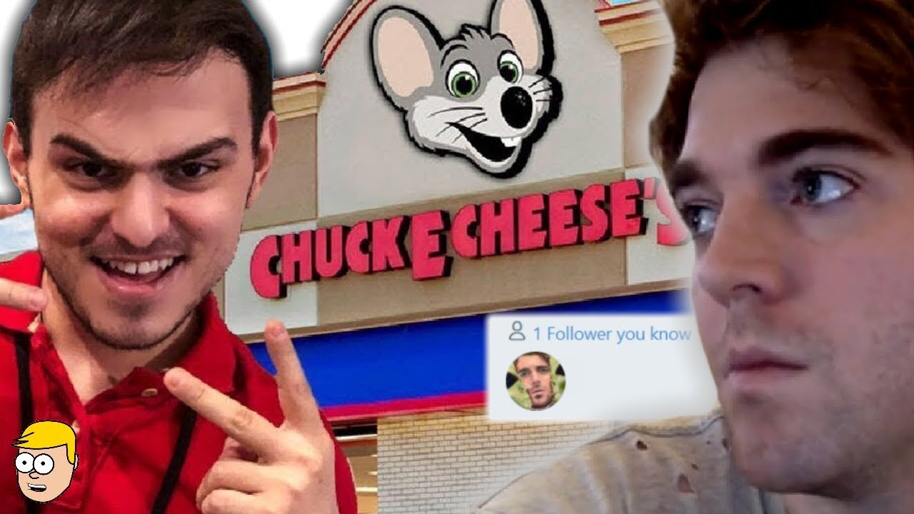 He Pretended to Work at Chuck E. Cheese for Shane Dawson Video