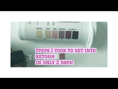 HOW TO GET INTO KETOSIS IN 2 DAYS!!!!