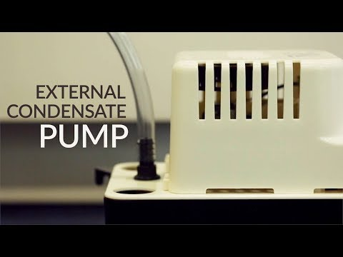 Condensate Pump for Dehumidifiers and Portable ACs