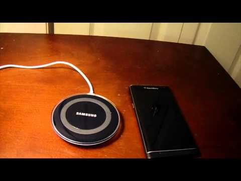 Wireless Charging on the BlackBerry Priv
