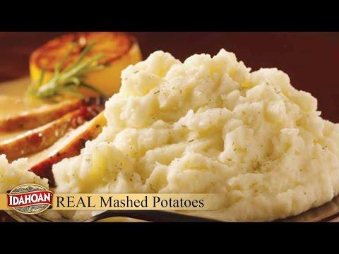 Idahoan Real Mashed Potatoes