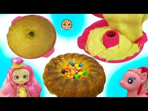 Shoppies Chef Club Doll & MLP Pinkie Pie Bake Pumpkin Cake with Surprise Candy