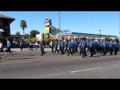 SPHS Marching Band at the Escondido Christmas Parade 2012