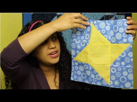 How to make Friendship Star Quilt Block- Block#4 of 12- Video Quilt Along