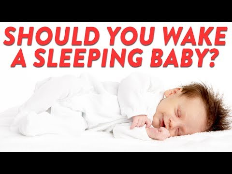 Should You Wake A Sleeping Baby?   CloudMom