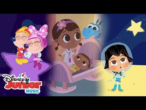 Disney Junior Lullabies! 🌜 😴   🎼 Disney Junior Music Nursery Rhymes   Disney Junior