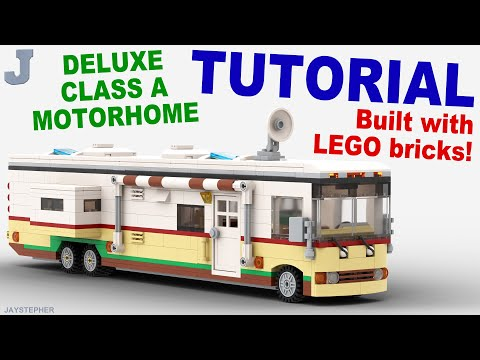 LEGO Tutorial - Deluxe Class A Motorhome How To
