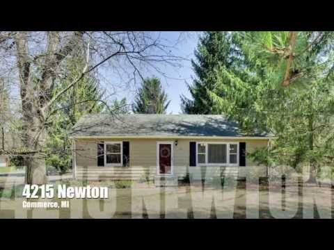 SOLD | 4215 Newton, Commerce, MI | Updated Commerce Ranch