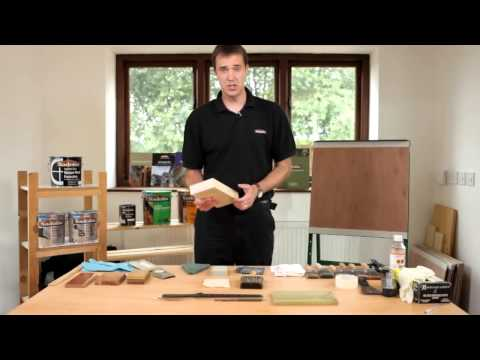 How to prepare bare wood for paint or varnish