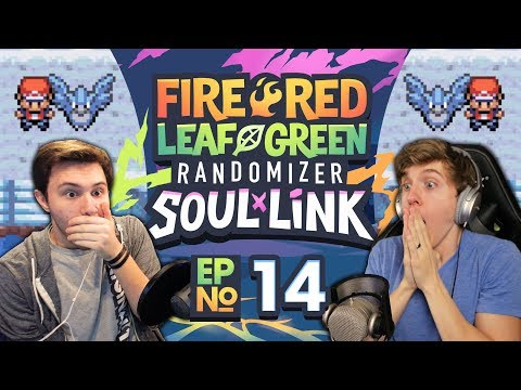 CAN'T ESCAPE!   Pokemon Fire Red and Leaf Green Soul Link Randomized Nuzlocke EP 14