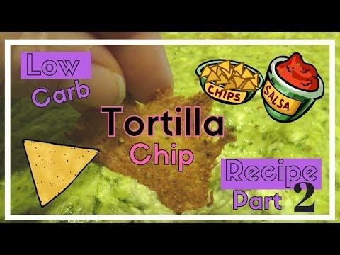 Low Carb Tortilla Chips Recipe 2 | Keto | LCHF