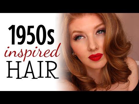 1950s Inspired Hair Tutorial