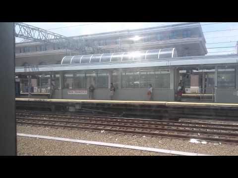 Minha ride até New Haven CT por trem