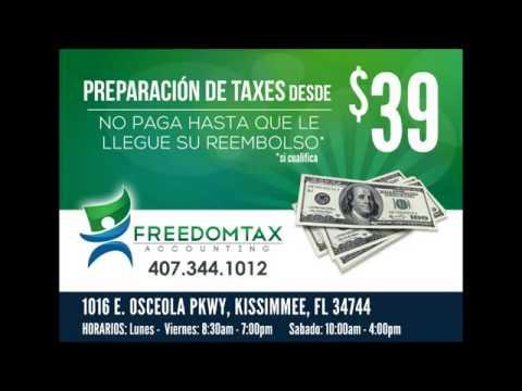 Contable Orlando Kissimmee - Taxes Español 2013