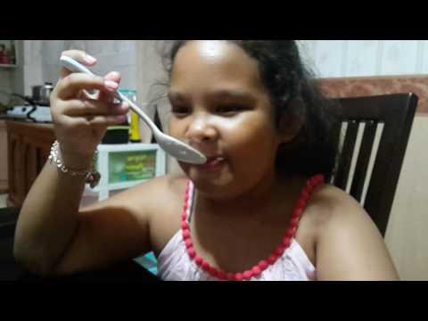 abbygailTubeRaw - Baby Food Challenge HEINZ Vanilla Custard