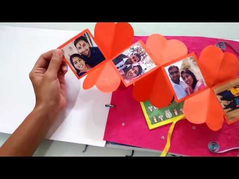 Best handmade greeting card for wife, husband, girlfriend, boyfriend | Best anniversary card