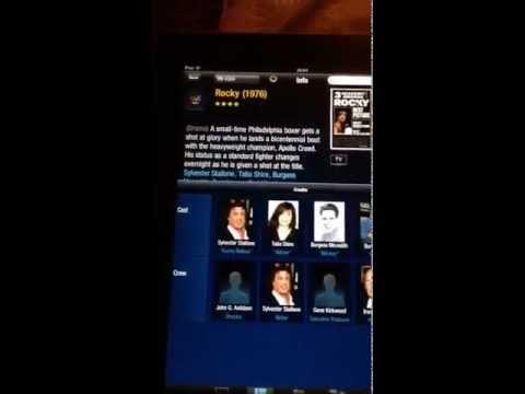 Virgin Media US TiVo iPad app