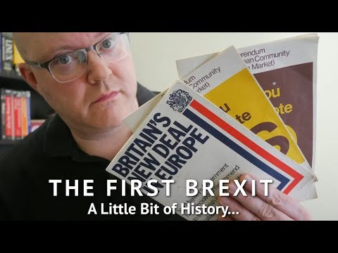 The First Brexit - A Little Bit Of History...