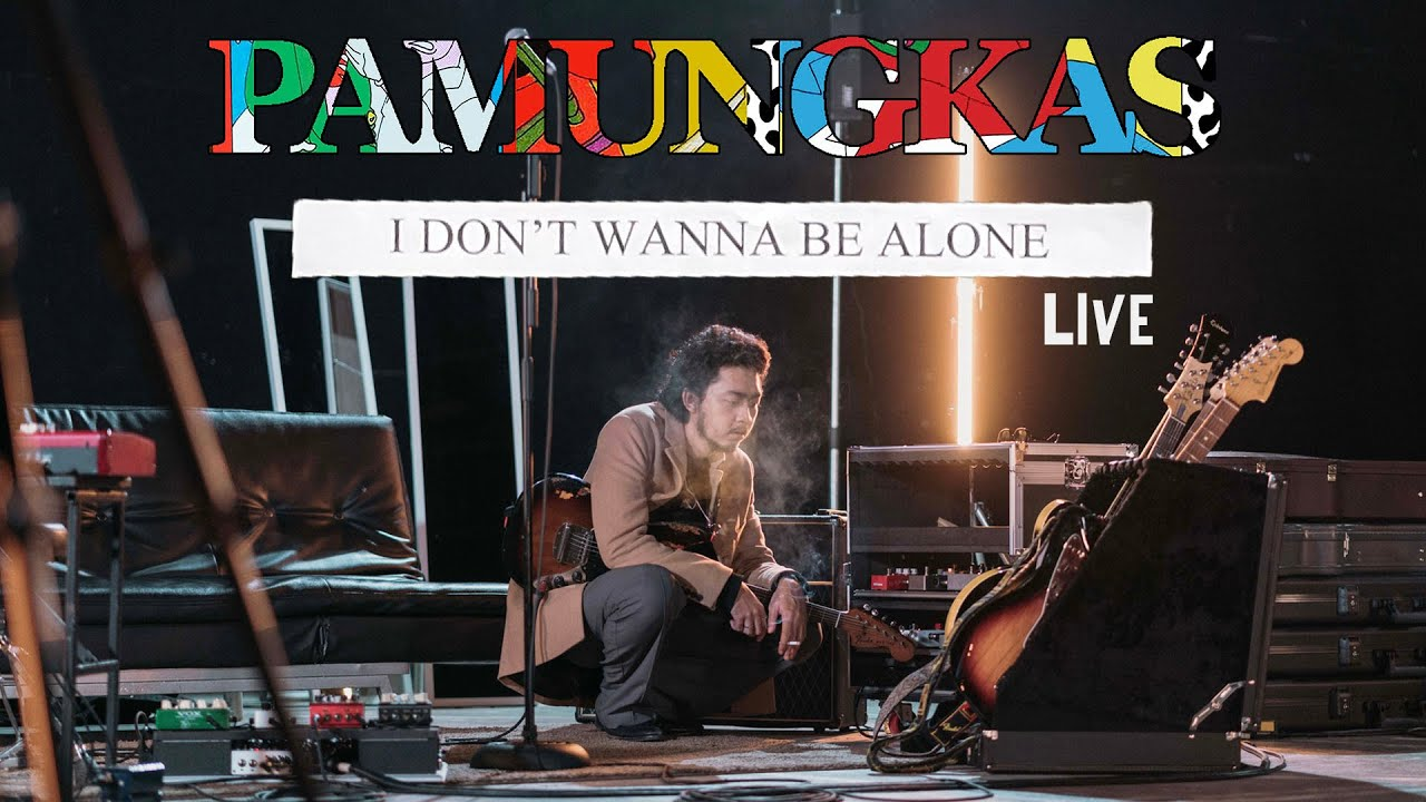 Download Pamungkas - I Don't Wanna Be Alone LIVE MP3 Gratis