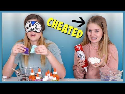 Xxx Mp4 VANESSA CHEATED Blindfolded Slime Challenge Nessa Grace 3gp Sex
