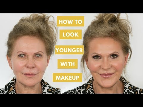 How to Look Younger With Makeup   Mature Skin Makeup Tutorial