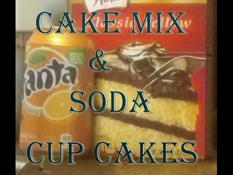 Cake Mix & Soda Cupcakes!! Just Two Ingredients!!