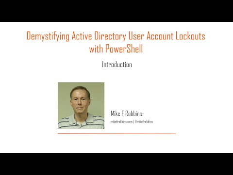 Demystifying Active Directory User Account Lockouts with PowerShell