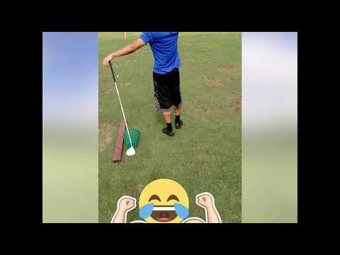 Better golf swing at the driving range [300+ YARDS]