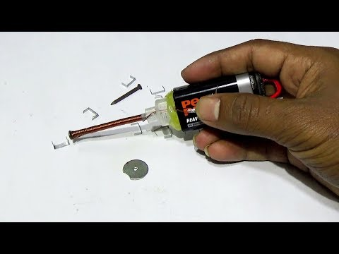 Science Project - How To Make An Electromagnet