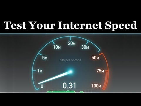 How To Test Your Internet Speed - Urdu/Hindi