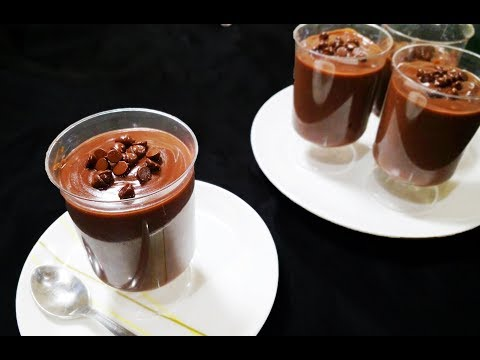 Creamy Chocolate Pudding | Eggless, No Gelatin | Simple & Easy Recipe - Chef Lall's Kitchen