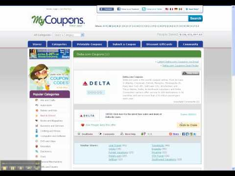 How To Use Delta Airlines Coupon Codes