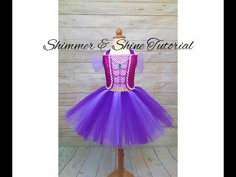 Shimmer And Shine Tutu Costume | DIY Tutu | Genie Costume