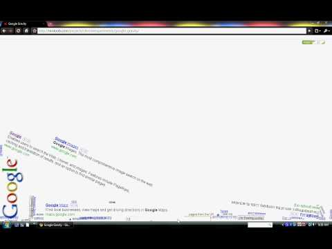 Google Gravity (HD) (PC) On Google Chrome